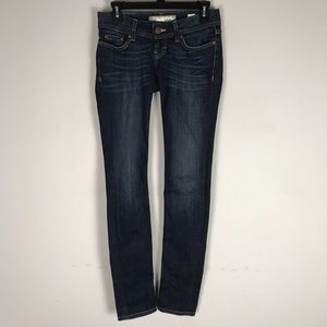 Buckle BKE Stella skinny jeans dark wash stretch